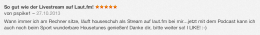 Rezension bei iTunes