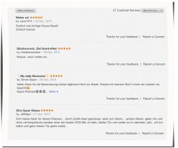 Houseschuh Hörer-Rezensionen bei iTunes