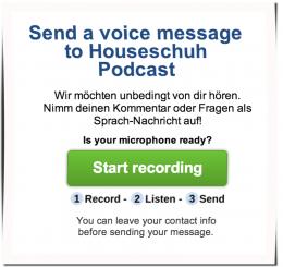 Houseschuh Speakpipe