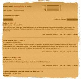 3 neue Rezensionen bei iTunes
