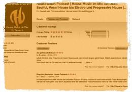 iTunes Rezensionen von Houseschuh