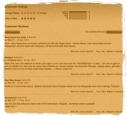 HSP iTunes Rezensionen, April 2014