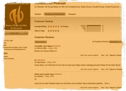 Podcast Rezensionen bei iTunes