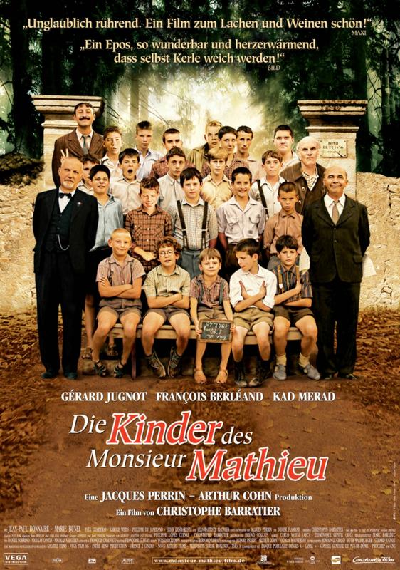 Filmplakat: Die Kinder des Monsieur Mathieu