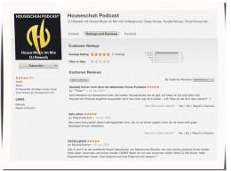 HSP43 Bewertungen bei iTunes, 25. Juni 2014