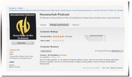 Houseschuh Rezension bei iTunes