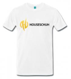 Houseschuh als T-Shirt bestellen