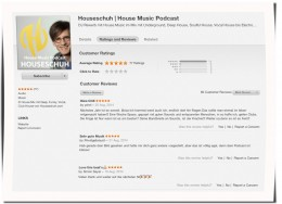 iTunes Rezensionen, Houseschuh, August 2014