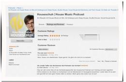HSP57 iTunes Rezensionen, 1. Oktober 2014
