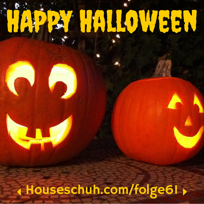 HSP61 Halloween-Party | Folge 61 Houseschuh Podcast