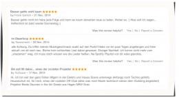 Rezensionen bei iTunes für Houseschuh HSP65