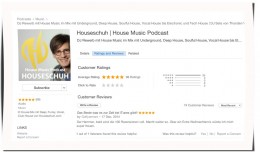 iTunes Rezension von Houseschuh