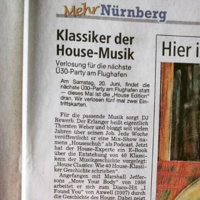 House Classics in Nürnberger Nachrichten