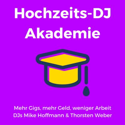 Hochzeits-DJ Akademie Podcast-Logo