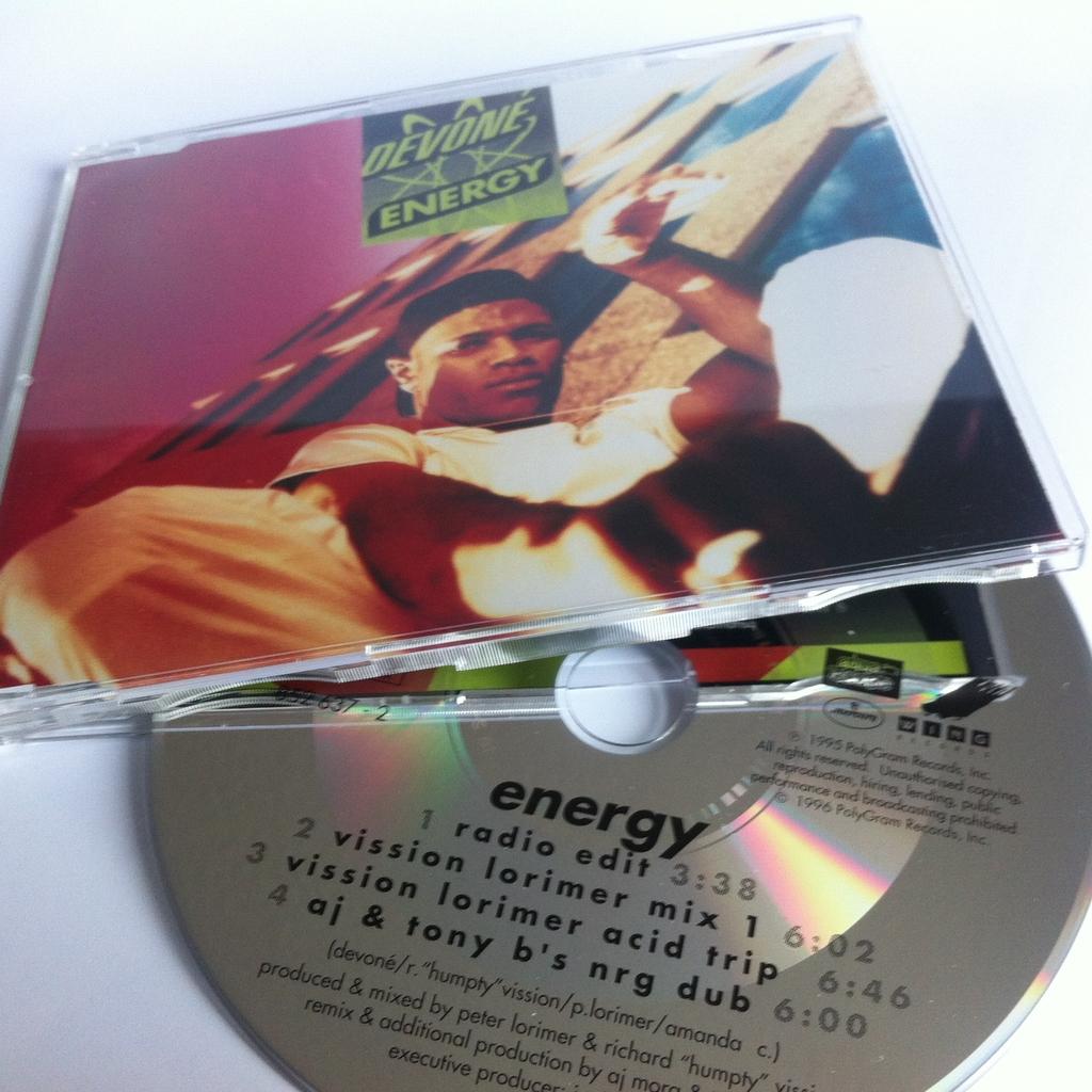 Devone - Energy als Maxi-CD