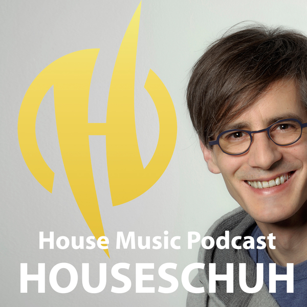 House Music Podcast Houseschuh Logo